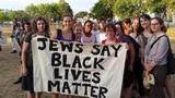 Jews Say Black Lives matter sign
